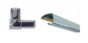 perfil vitrinas adhesivo