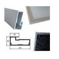 vitrinas aluminio cocinas