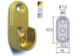 soporte lateral armario dorado