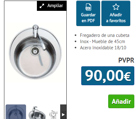 FREGADERO TEKA CENTROVAL INOX